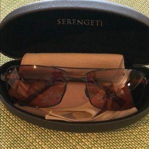 Serengeti sunglasses. San Remo Pilot